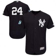2017 MLB New York Yankees 24 Cano Black Jerseys