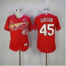 2017 MLB St. Louis Cardinals 45 Gibson Red Elite Jerseys