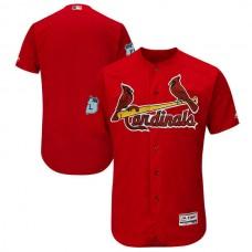 2017 MLB St. Louis Cardinals Blank Red Jerseys