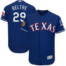 2017 MLB Texas Rangers 29 Beltre Blue Jerseys