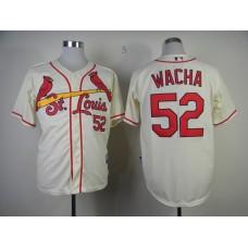 MLB St. Louis Cardinals 52 Michael Wacha Gream Jerseys