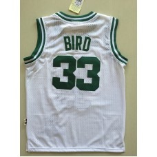 2017 NBA Boston Celtics 33 Larry Bird white kids jerseys