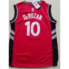2017 NBA Toronto Raptors 10 Derozan red kids jerseys