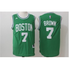 NBA Boston Celtics 7 Brown green 2016 Jersey