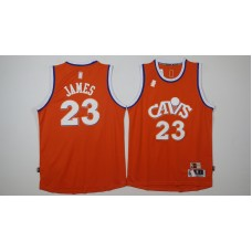 NBA Cleveland Cavaliers 23 James orange 2017 Jerseys