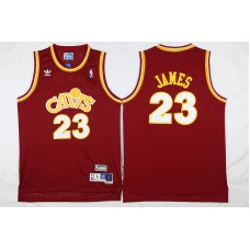 NBA Cleveland Cavaliers 23 James red 2017 Jerseys style 2