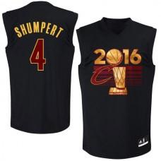 NBA Cleveland Cavaliers 4 Shumpert adidas 2016 Finals Champions Black Jersey