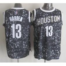 NBA Houston Rockets 13 harden black New National Flag Star Jersey