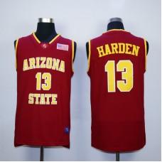 NBA Houston Rockets Arizona Stata Sun Devils NCAA 13 James Harden Red Vintage