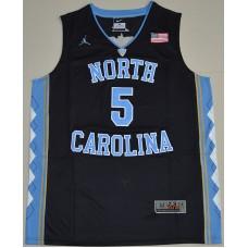 2016 North Carolina Tar Heels Marcus Paige 5 College Basketball Jersey - Black