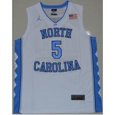 2016 North Carolina Tar Heels Marcus Paige 5 College Basketball Jersey - White
