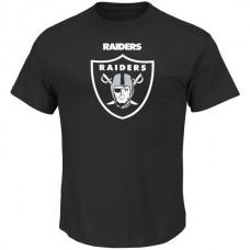 2016 NFL Oakland Raiders Majestic Critical Victory T-Shirt - Black