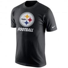 2016 NFL Pittsburgh Steelers Nike Facility T-Shirt - Black