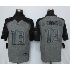 2016 New Nike Tampa Bay Buccaneers 13 Evans Gray Men's Stitched Gridiron Gray Limited Jersey