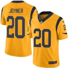 2016 Nike Los Angeles Rams 20 Lamarcus Joyner Gold Men Stitched NFL Limited Rush Jersey