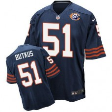 2016 Nike NFL Chicago Bears 51 Butkus throwback blue jersey