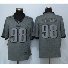 2016 Nike Philadelphia Eagles 98 Barwin Gray Men's Stitched Gridiron Gray Limited Jersey