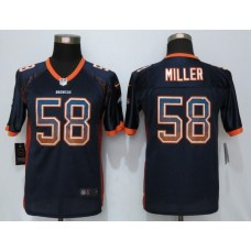 2016 Youth NEW Nike Denver Broncos 58 Miller Drift Fashion Blue Elite Jerseys