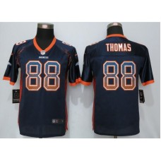 2016 Youth NEW Nike Denver Broncos 88 Thomas Drift Fashion Blue Elite Jerseys