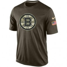 2016 Mens Boston Bruins Salute To Service Nike Dri-FIT T-Shirt