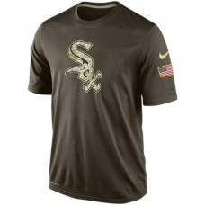 2016 Mens Chicago White Sox Salute To Service Nike Dri-FIT T-Shirt