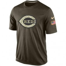 2016 Mens Cincinnati Reds Salute To Service Nike Dri-FIT T-Shirt
