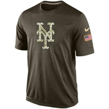2016 Mens New York Mets Salute To Service Nike Dri-FIT T-Shirt