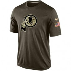 2016 Mens Washington Redskins Salute To Service Nike Dri-FIT T-Shirt