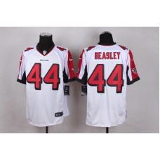 Atlanta Falcons 44 Beasley White Men Nike Elite Jerseys