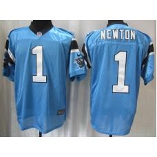 Carolina Panthers 1 Newton Blue Nike Elite Jersey