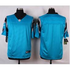 NFL Customize Carolina Panthers Blank Green 2015 Elite Nike Jerseys