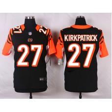 NFL Customize Cincinnati Bengals 27 Kirkpatrick Black 2015 Elite Nike jerseys