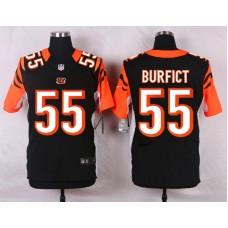 NFL Customize Cincinnati Bengals 55 Burfict Black Men Nike Elite Jerseys
