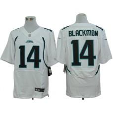 Jacksonville Jaguars 14 Blackmon White Nike Elite Jerseys