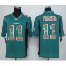 Miami Dolphins 11 Parker Green Strobe 2015 New Nike Limited Jersey