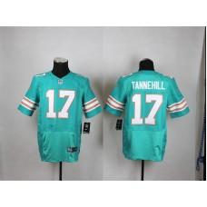 Miami Dolphins 17 Tannehill Green Men Nike Elite Jerseys