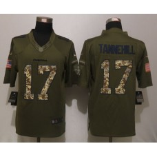 Miami Dolphins 17 Tannehill Green Salute To Service New Nike Limited Jersey