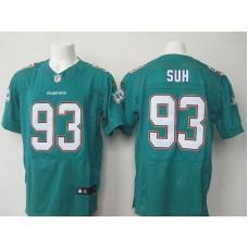 Miami Dolphins 93 Suh Green 2015 Nike Elite Jersey