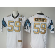 NFL Carolina Panthers 59 keuchly white 50th nike 2016 jerseys