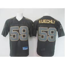 NFL Carolina Panthers 59 kuechly Black golden Elite nike 2016 jerseys