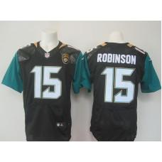 NFL Jacksonville Jaguars 15 Robinson Black Nike elite 2016 jerseys