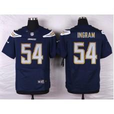 Los Angeles Chargers 54 Ingram Blue Men Nike Elite Jerseys