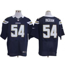 Los Angeles Chargers 54 Ingram Blue Nike Elite Jerseys