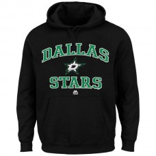 2016 NHL Dallas Stars Majestic Heart Soul Hoodie - Black