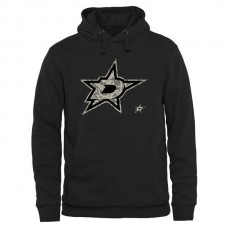 2016 NHL Mens Dallas Stars Black Rink Warrior Pullover Hoodie