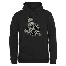 2016 NHL Mens Ottawa Senators Black Rink Warrior Pullover Hoodie
