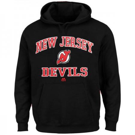 2016 NHL New Jersey Devils Majestic Heart  Soul Hoodie - Black