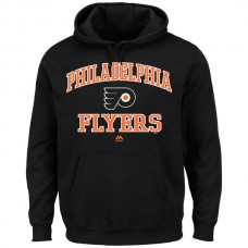2016 NHL Philadelphia Flyers Majestic Heart  Soul Hoodie - Black