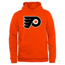 2016 NHL Philadelphia Flyers Rinkside Big  Tall Primary Logo Pullover Hoodie - Orange