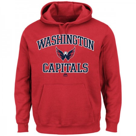 2016 NHL Washington Capitals Majestic Heart  Soul Hoodie - Red